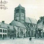 la-place-Jean-Jaures-et-l-eglise-avant-la-1ere-guerre-mondiale1